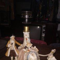 Antigüedades: LAMPARA MESA PORCELANA 1959 MADE ON GDN. Lote 173523007