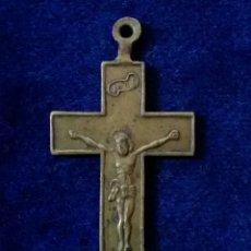 Antigüedades: ANTIGUA CRUZ RELIGIOSA CRUCIFIJO S.XVIII. Lote 173532088