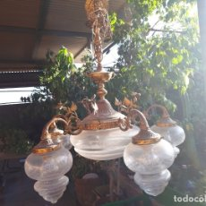 Antigüedades: ANTIGUA LAMPARA. Lote 173533897
