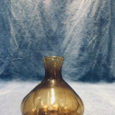 Antigüedades: JARRON FIGUETA VIDRIO SOPLADO CATALAN MALLORCA MALLORQUIN GORDIOLA S XX 10,5X11CMS. Lote 173576390