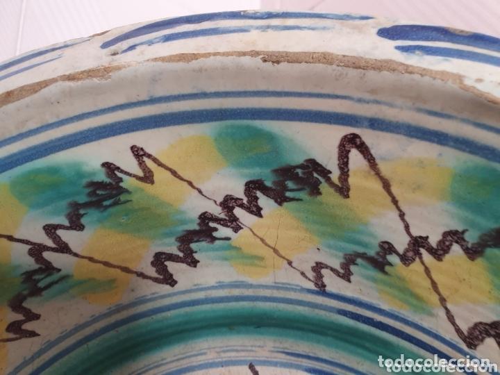 Antigüedades: ANTIGUO LEBRILLO CERAMICA DE TRIANA (SEVILLA) S.XIX - Foto 2 - 166777600
