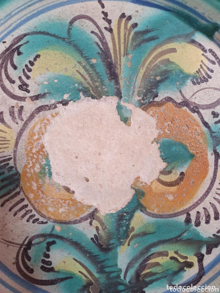 Antigüedades: ANTIGUO LEBRILLO CERAMICA DE TRIANA (SEVILLA) S.XIX - Foto 4 - 166777600
