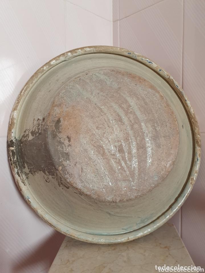 Antigüedades: ANTIGUO LEBRILLO CERAMICA DE TRIANA (SEVILLA) S.XIX - Foto 6 - 166777600