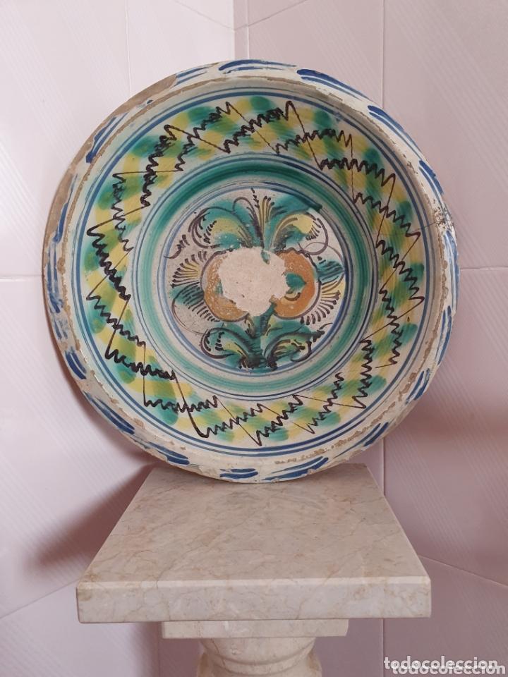 ANTIGUO LEBRILLO CERAMICA DE TRIANA (SEVILLA) S.XIX (Antigüedades - Porcelanas y Cerámicas - Triana)