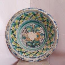 Antigüedades: ANTIGUO LEBRILLO CERAMICA DE TRIANA (SEVILLA) S.XIX. Lote 166777600