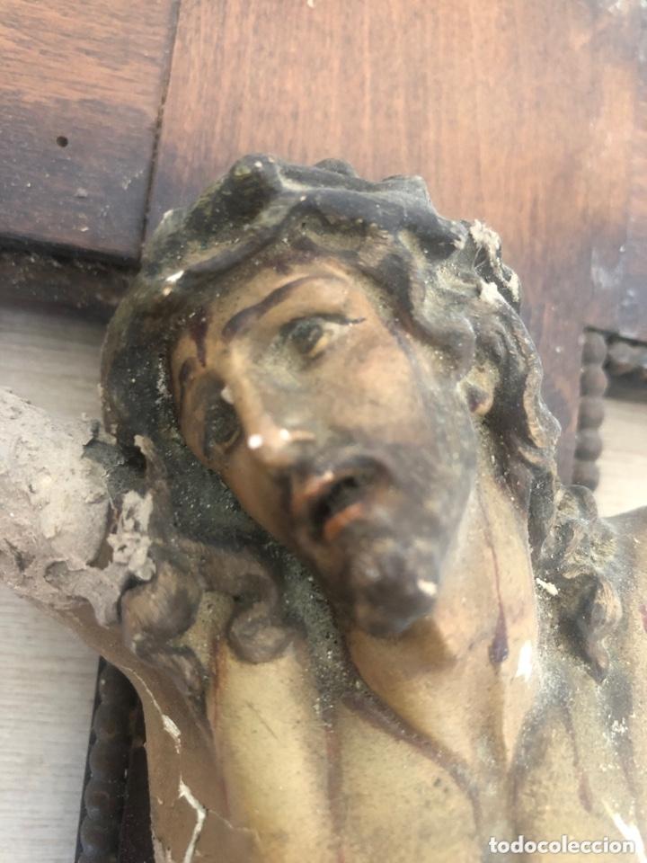 Antigüedades: Crucifijo - Foto 2 - 173626044