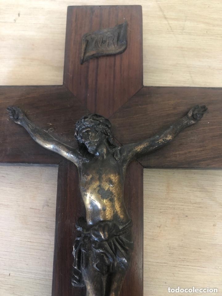 Antigüedades: Crucifijo - Foto 2 - 173626170