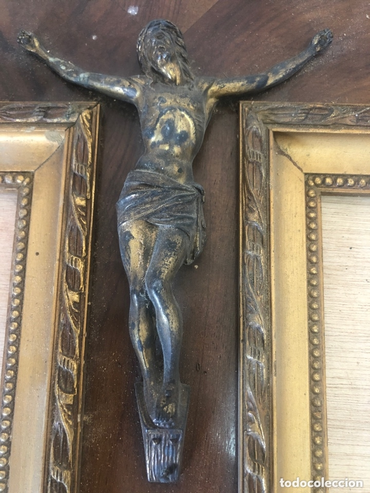 Antigüedades: Crucifijo - Foto 3 - 173626980