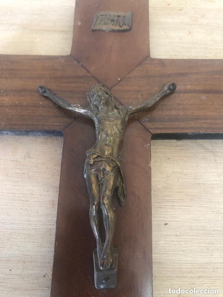 Antigüedades: Crucifijo - Foto 2 - 173627150