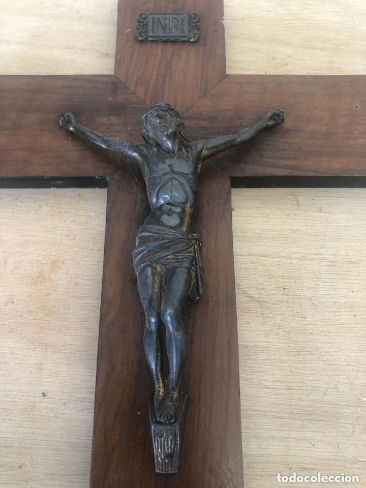 Antigüedades: Crucifijo - Foto 2 - 173627230