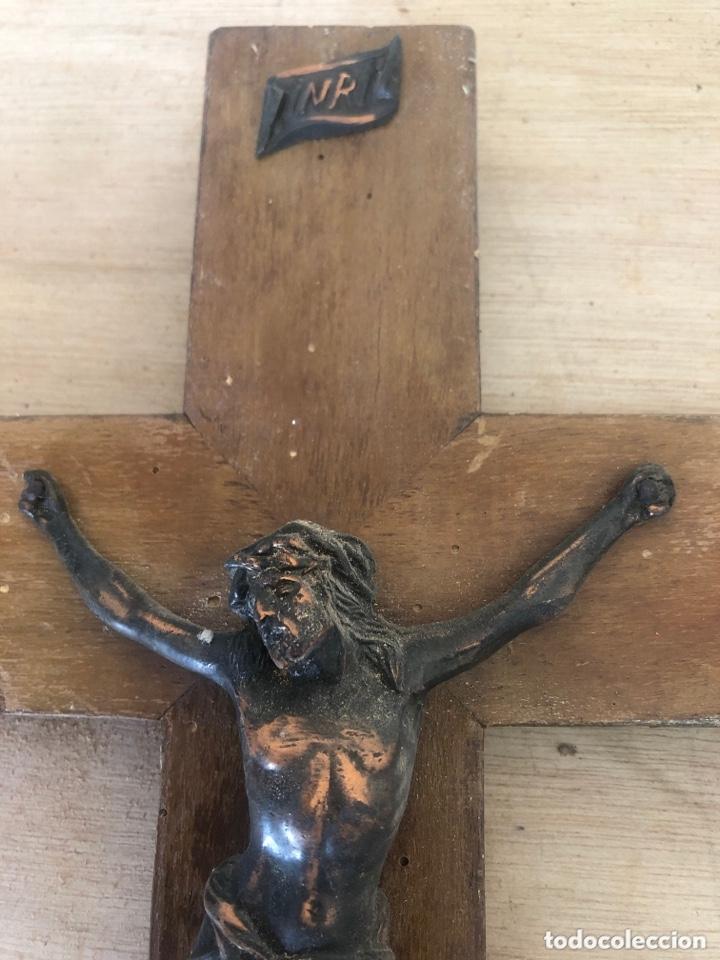 Antigüedades: Crucifijo - Foto 2 - 173627602