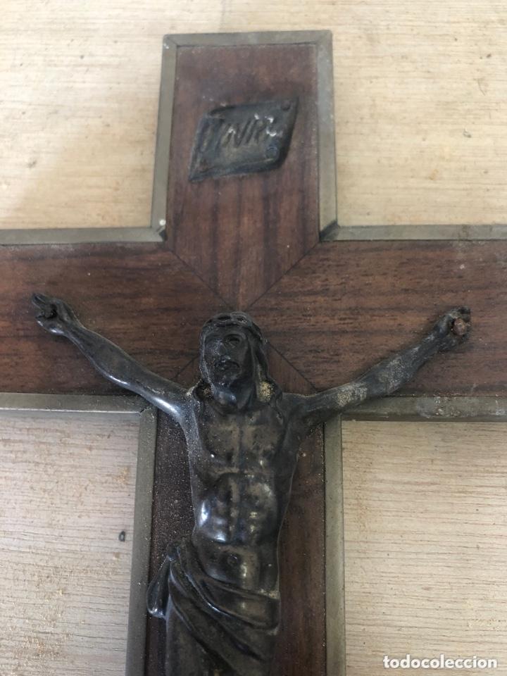Antigüedades: Crucifijo - Foto 2 - 173627797