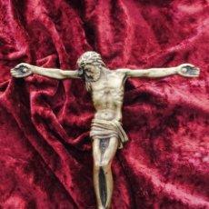 Antigüedades: CRISTO BRONCE SIGLO XIX. Lote 173647217