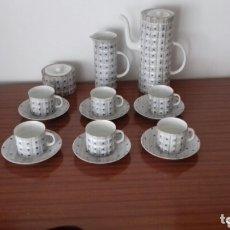Antigüedades: JUEGO CAFE CASTRO SARGADELOS. Lote 173659973