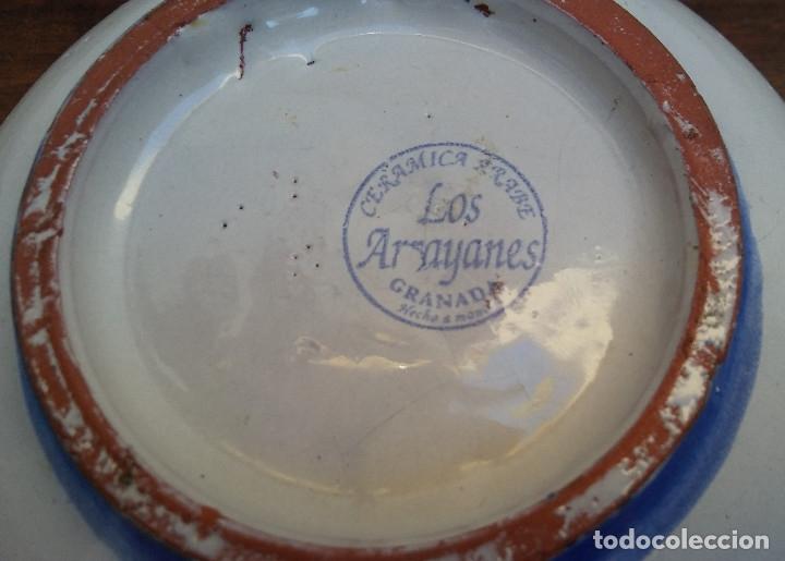 Antigüedades: ANTIGUA BOMBONERA, BOTE O CAJA DE CERÁMICA FAJALAUZA. - Foto 5 - 173670495