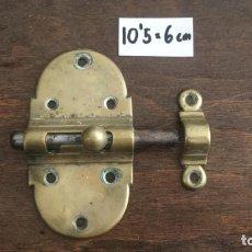 Antigüedades: ANTIGUO PESTILLO PARA PUERTA. Lote 173683535