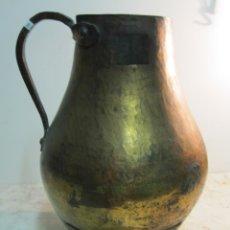Antigüedades: CENTENARIA MEDIDA DE COBRE PARA EL VINO. Lote 173747532