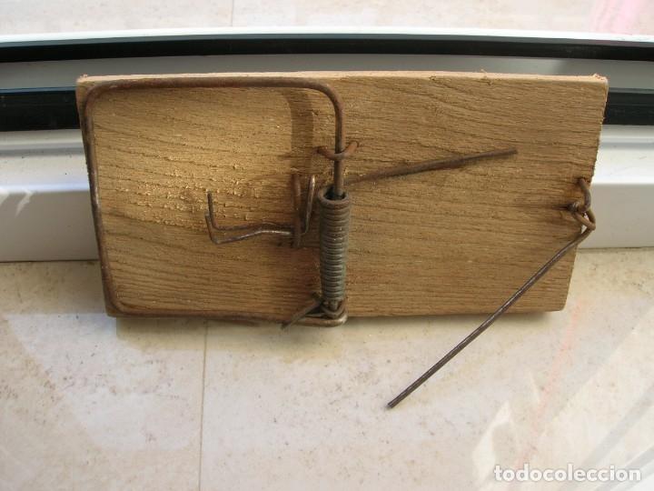 Antigüedades: Antigua ratonera.Tamaño: 12 ctmas. - Foto 4 - 173812687