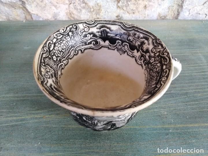 Antigüedades: Antigua Taza de La cartuja Pickman (leer descripción) - Foto 2 - 173813993