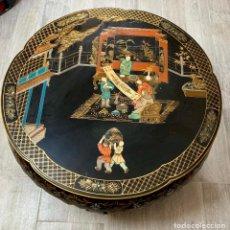 Antigüedades: MESA DE CENTRO CHINA LACADA . Lote 173815330