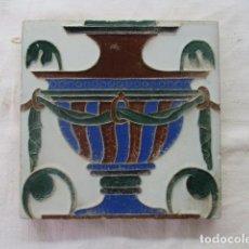 Antigüedades: AZULEJO MENSAQUE. Lote 173831505
