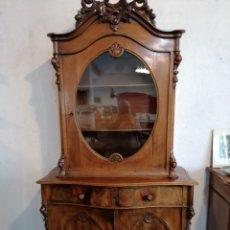 Antigüedades: MUEBLE HOLANDÉS DE NOGAL. Lote 173836917