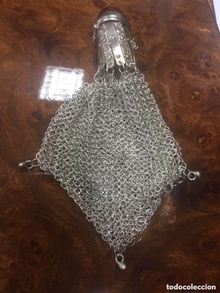 Antigüedades: Monedero Femenino del final de siglo XIX en plata. - Foto 4 - 173852707