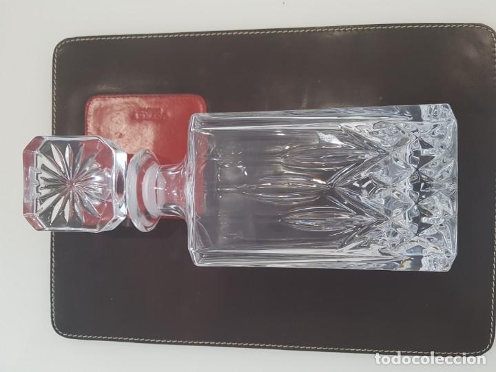 Antigüedades: Licorera Inglesa de Cristal, Plomo tallado - Foto 8 - 173853055