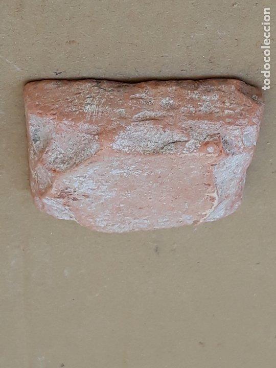Antigüedades: AZULEJO ANTIGUO DE TOLEDO / SEVILLA - ARISTA - ARABE / MUDEJAR - SIGLO XV- XVI. - Foto 3 - 173855358