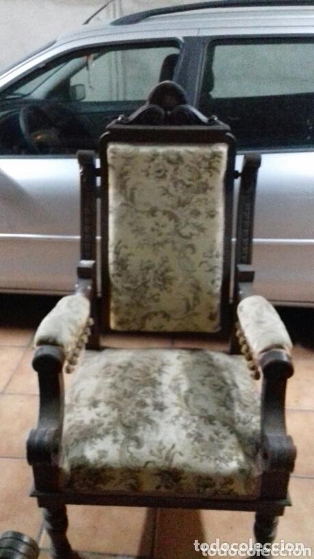 Antigüedades: Sillones antiguos - Foto 3 - 173862398