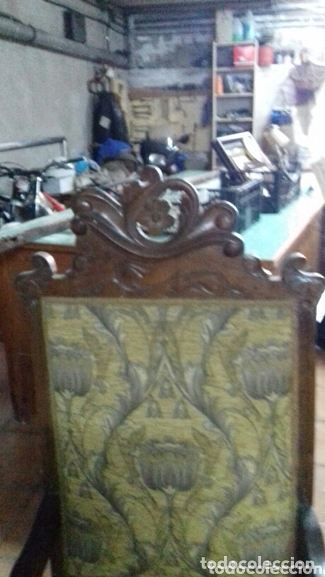 Antigüedades: Sillon modernista y dos sillas - Foto 4 - 173862994