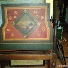 Antigüedades: CABECERO MADERA NOBLE. Lote 173866157