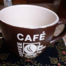 Antigüedades: TAZA-TAZITA DE CAFE --MOTIVOS GRAVADOS,MIDE 7,50 APÓX.. Lote 33712418