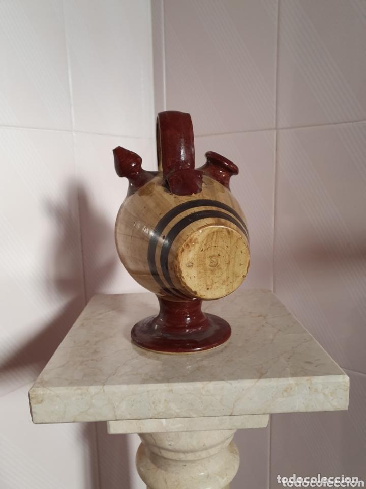 Antigüedades: PRECIOSO BOTIJO CON FORMA DE BARRIL - Foto 2 - 161137733