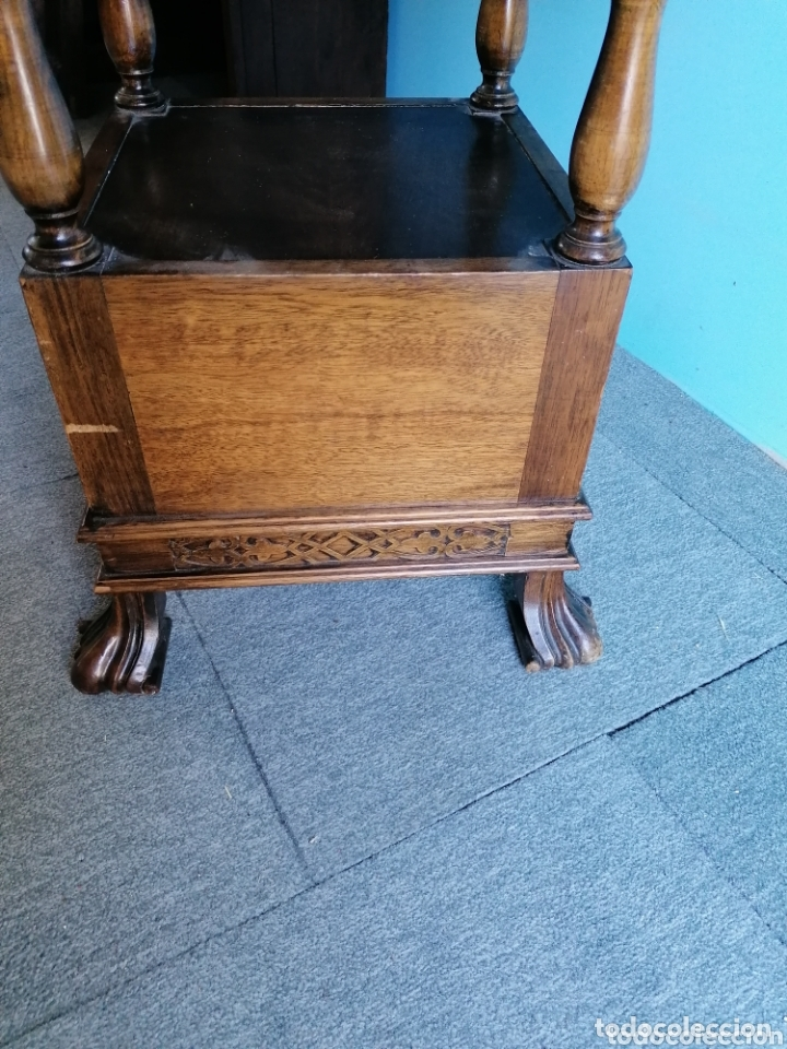 Antigüedades: Mesa auxiliar de roble muy bonita - Foto 3 - 173918179