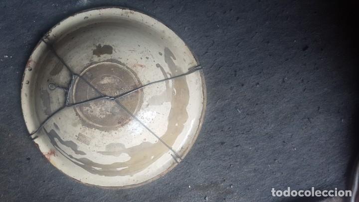 Antigüedades: Cuenco cerámica de reflejos Hispano-Árabe siglo XVII - Foto 2 - 173922997