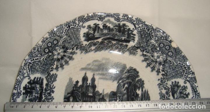 Antigüedades: PLATO DE LOZA PICKMAN 24cm. - Foto 3 - 173931175