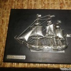 Antigüedades: PRECIOSO CUADRO FRAGATA HOLANDA 1800. Lote 173958005