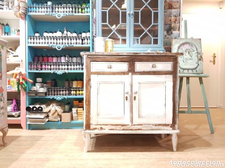 Antigüedades: Aparador antiguo estilo francés rústico - Foto 6 - 162563894