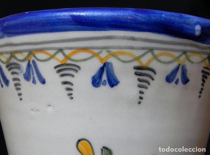 Antigüedades: 52cm GRAN Jarrón Ceramica Catalana LA BISBAL firmado Florero Ánfora Vintage Años 1960s - Foto 11 - 173965792