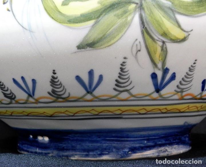 Antigüedades: 52cm GRAN Jarrón Ceramica Catalana LA BISBAL firmado Florero Ánfora Vintage Años 1960s - Foto 14 - 173965792