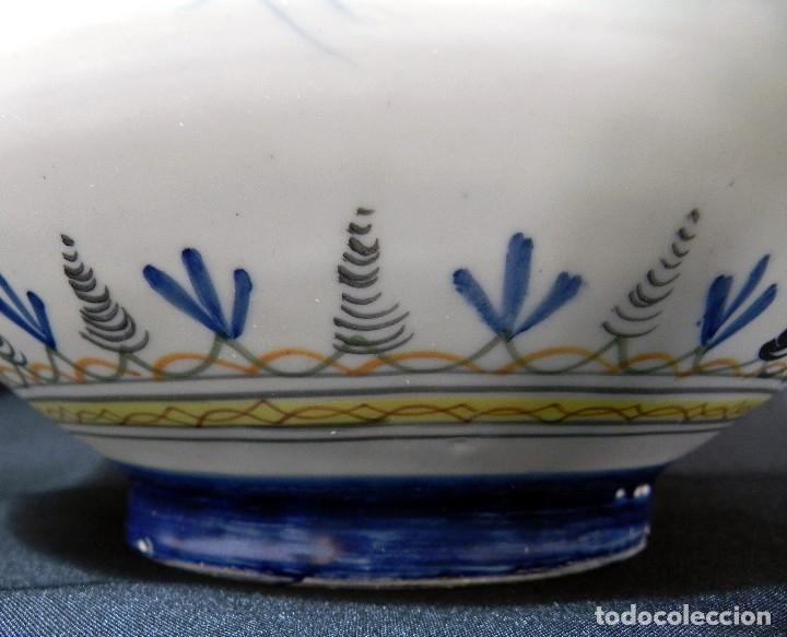 Antigüedades: 52cm GRAN Jarrón Ceramica Catalana LA BISBAL firmado Florero Ánfora Vintage Años 1960s - Foto 15 - 173965792