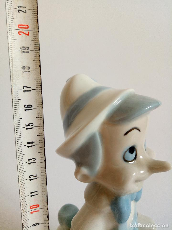 Antigüedades: Figura Pinocho original de la casa Walt Disney sellado porcelana esmaltada. - Foto 6 - 173970537