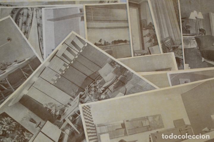 Antigüedades: 30 LÁMINAS VARIADAS - EXQUISITAS, BELLAS Y ANTIGUAS DE MUEBLES CLÁSICOS / ART DECO - ArtDeco ¡Mira! - Foto 3 - 173985832