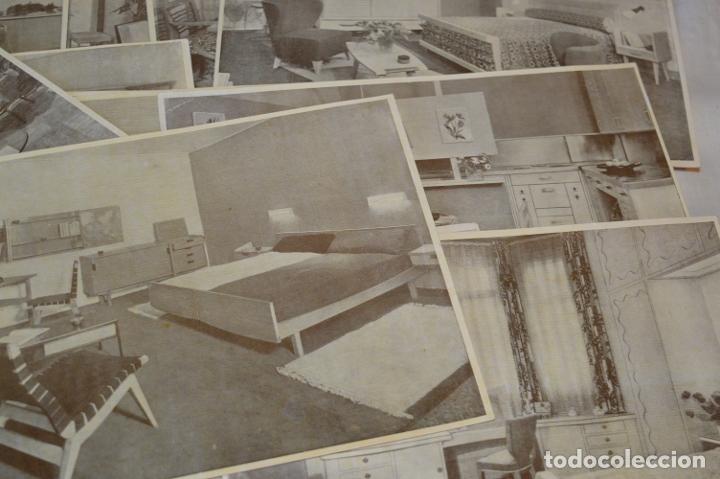 Antigüedades: 30 LÁMINAS VARIADAS - EXQUISITAS, BELLAS Y ANTIGUAS DE MUEBLES CLÁSICOS / ART DECO - ArtDeco ¡Mira! - Foto 7 - 173985832
