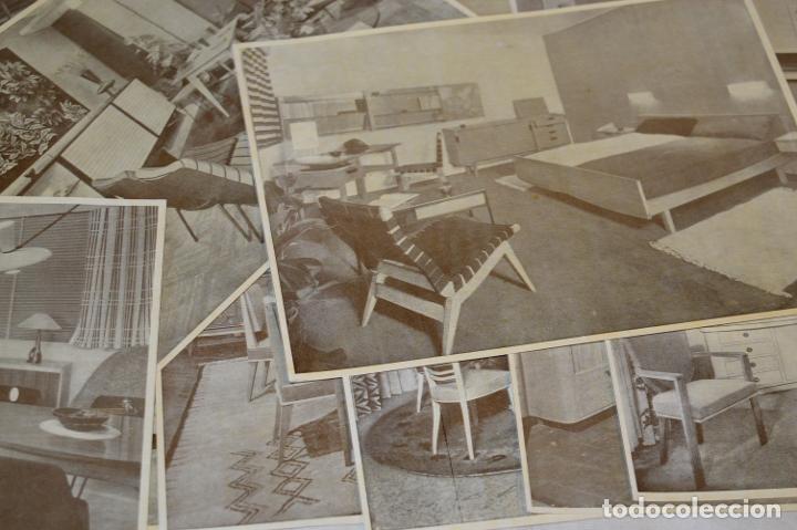 Antigüedades: 30 LÁMINAS VARIADAS - EXQUISITAS, BELLAS Y ANTIGUAS DE MUEBLES CLÁSICOS / ART DECO - ArtDeco ¡Mira! - Foto 9 - 173985832