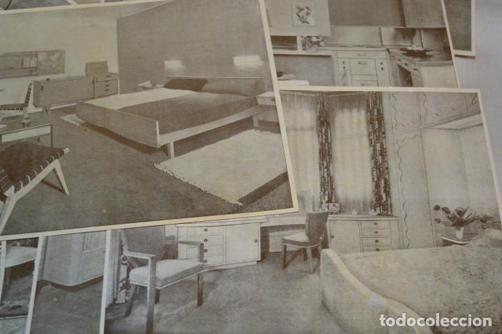 Antigüedades: 30 LÁMINAS VARIADAS - EXQUISITAS, BELLAS Y ANTIGUAS DE MUEBLES CLÁSICOS / ART DECO - ArtDeco ¡Mira! - Foto 10 - 173985832