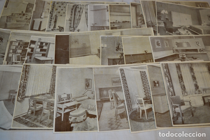 Antigüedades: 30 LÁMINAS VARIADAS - EXQUISITAS, BELLAS Y ANTIGUAS DE MUEBLES CLÁSICOS / ART DECO - ArtDeco ¡Mira! - Foto 11 - 173985832