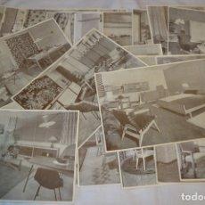 Antigüedades: 30 LÁMINAS VARIADAS - EXQUISITAS, BELLAS Y ANTIGUAS DE MUEBLES CLÁSICOS / ART DECO - ARTDECO ¡MIRA!. Lote 173985832