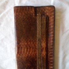 Antigüedades: BOLSO DE PIEL DE SERPIENTE. Lote 173985950
